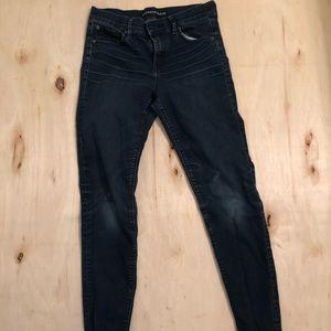 Express  jeans Ankle Legging Mia Mis Rise size 4